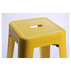 Табурет Loft Metal Желтый, фото 3