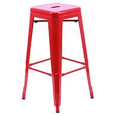 Табурет Loft Metal Красный, фото 2