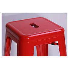 Табурет Loft Metal Красный, фото 3