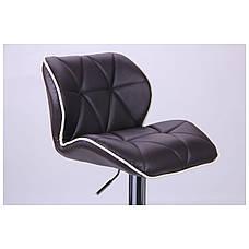 Барный стул Vensan коричневый, фото 3