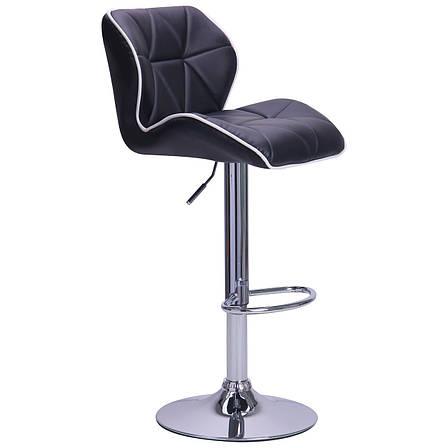 Барный стул Vensan черный, фото 2