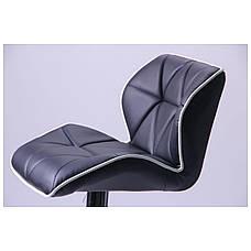 Барный стул Vensan черный, фото 3