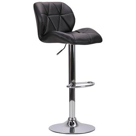 Барный стул Vensan черный без канта, фото 2