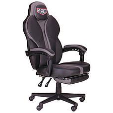 Кресло VR Racer Edge Napa черный/серый, фото 2