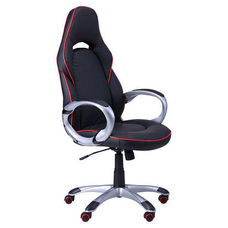 Кресло Страйк (CX 0496H Y10-01) Черный/кант Красный, фото 2