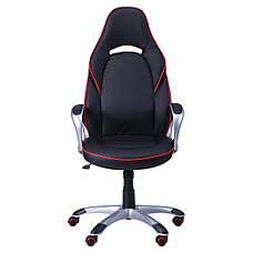 Кресло Страйк (CX 0496H Y10-01) Черный/кант Красный, фото 3
