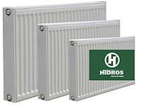 Радиатор Hidros L600 мм H500 мм