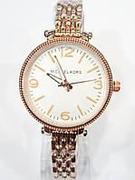 Женские кварцевые наручные часы Michael Kors на металлическом ремешке, фото 1