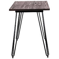 Стол Smith 120, черный, фото 2
