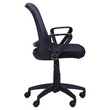 Кресло Виреон чёрный/сетка серая (W-158A), фото 2