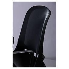 Кресло Виреон чёрный/сетка серая (W-158A), фото 3
