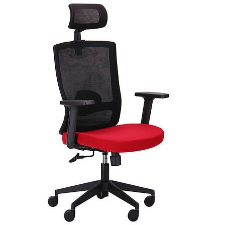 Кресло Xenon HB черный/гранат, фото 2