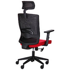 Кресло Xenon HB черный/гранат, фото 3
