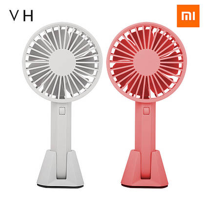 Ручной портативный вентилятор Xiaomi Mijia VH с перезаряжаемым встроенным аккумулятором, фото 2
