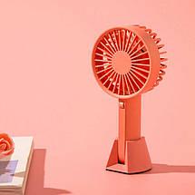 Ручной портативный вентилятор Xiaomi Mijia VH с перезаряжаемым встроенным аккумулятором, фото 3