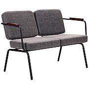 Кресло Utwo черный / бетон