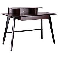 Компьютерный стол Bulgakov черный/орех темный