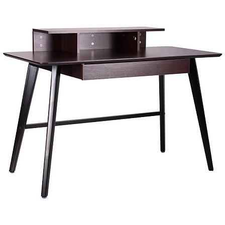 Компьютерный стол Bulgakov черный/орех темный, фото 2