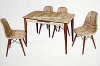"""Комплект обеденной мебели """"Dis Budak"""" (стол + 4 стула) Mobilgen, Турция"""
