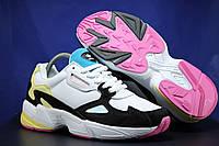 Женские, яркие кроссовки на массивной подошве Adidas размеры:37-41