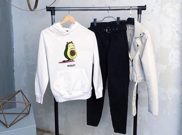 Жіноча кофта худі Avocat білого кольору, фото 2
