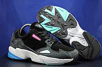 Женские, яркие замшевые кроссовки Adidas размеры:37-40