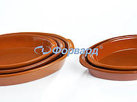 Блюдо для запекания овальное серия Table collection Regas 501 41х26 см, h 6,5 см, 3,5 л