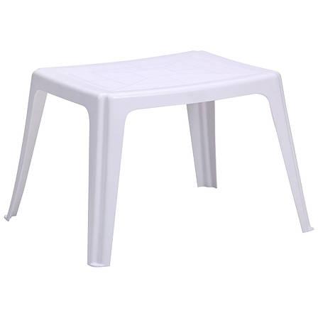 Столик Elba 64*53 пластик белый 01, фото 2