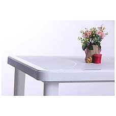 Стол Nettuno 80х80 пластик белый 01, фото 2