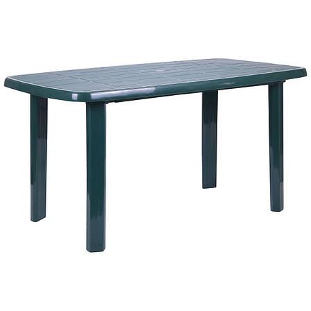 Стол Sorrento 140x80 пластик зеленый 15, фото 2