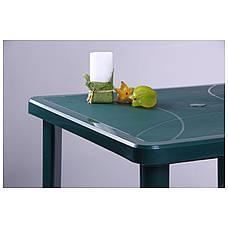 Стол Nettuno 80х80 пластик зеленый 15, фото 2
