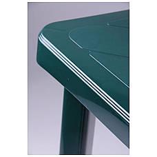 Стол Nettuno 80х80 пластик зеленый 15, фото 3