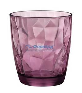 350230 Стакан низкий Bormioli Rocco серия Diamond цвет фиолетовый 305мм