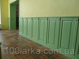 Дерев'яні панелі для стіни (декор стін деревом) Ясен