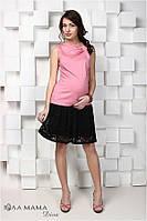 Модная юбка для беременных из гипюра ТМ Юла Мама  Hilary S15-3.15.1