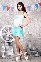 Легкая летняя юбка для беременных из ТМ Юла Мама  Rima S14-3.13.2