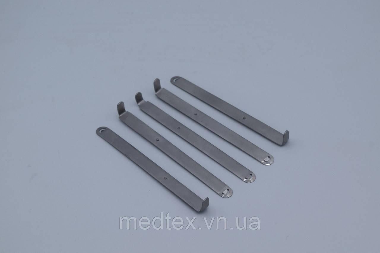 Лезвия для прямого костного скребка (набор, 5шт)