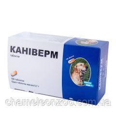 Каниверм 7 мг 1 табл на 10 кг массы для собак и котов Биовета