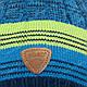 Детский комплект - шапка и шарф (хомут) для мальчика, р. 48-50, фото 6