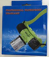 Світлодіодний налобний ліхтар для підводного плавання Bailong Cree T6, водонепроникний