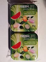 Драже Fresh Life Green Sour, 2*20г