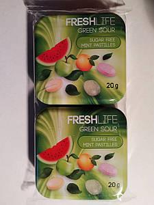 Драже Fresh Green Life Sour, 2*20г