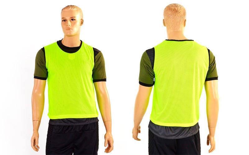 Манишка для футбола мужская цельная (сетка) CO-3946-LG