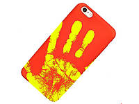 Термочутливий чохол Ranipo для смартфона iPhone 8 Червоний