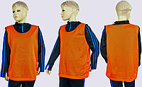 Манишки спортивные M-50х57см (Оранжевый)