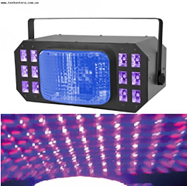 Диско - свет COMBO UV+DERBY