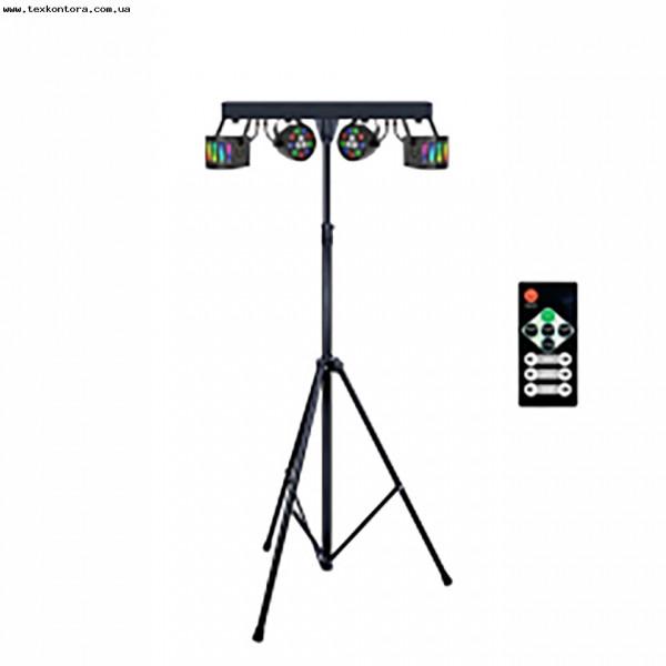 Мобильный комплект шоу свето-приборов SET DERBY+PAR