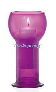 Подсвечник цвета фукции Bormioli Rocco серия Lucilla 700020-605 d8. 7мм,h16. 5мм