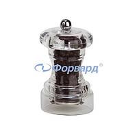 Мельница для перца прозрачная Bisetti 822 10 см