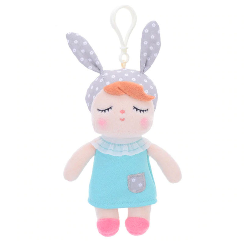 Мягкая кукла - подвеска Angela Blue dress, 15 см Metoys